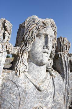 Zeus Statue, Aizanoi, Cavdarhisar, Kutahya, Turkey by Ihsan Gercelman on 500px