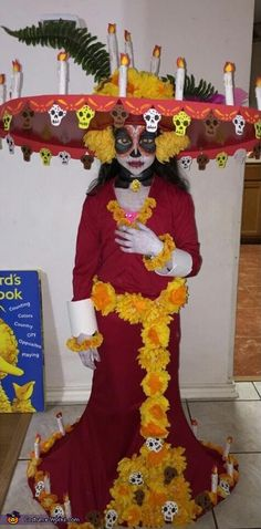 La Muerte - 2014 Halloween Costume Contest via @costume_works