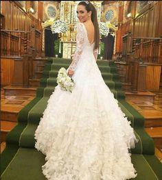 Vestido de noiva Lala Noleto blogueira de moda. brazilian fashion blogger