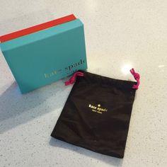 Kate Spade Little Box & Dust Bag Kate Spade %100 authentic box and dust bag kate spade Accessories