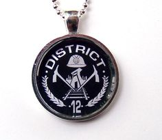 District 12 pendant | Community Post: 21 Great Geek Gifts For Every Fandom