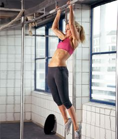 Tips for women to learn how to be able to do Pull-Ups