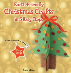 Craft festive decorations and funky holiday cards! You can turn ordinary household items into fun, unique crafts in just five easy steps! Get creative and at the same time, help keep the planet a little cleaner, too! Make a Santa card holder with clothespins, bells from an egg carton, an angel out of a toilet tissue tube, and much more!    http://www.enslow.com/books/Earth_Friendly_Christmas_Crafts_in_5_Easy_Steps/4041