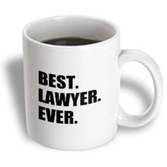 3dRose mug_179778_1 Best Lawyer Ever Fun Job Pride Gift for Worlds Greatest Law Worker Ceramic Mug, 11-Ounce 3dRose http://www.amazon.com/dp/B00IT77D9M/ref=cm_sw_r_pi_dp_rNNowb0JE59RK