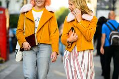 On the Streets of London Fashion Week Spring 2015 - London Fashion Week Spring 2015 Day 1