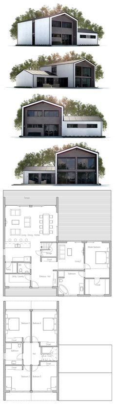 Modern Farmhouse, Floor plan
