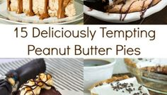 15 Deliciously Tempting Peanut Butter Pies