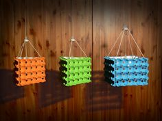 EKO-LAMPY - ECO CEILING LAMPS - UPCYKLING - UPCYCLING