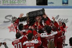 USHL Waterloo Black Hawks Anderson cup champions