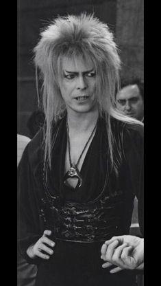 Jareth - the goblin king / David Bowie and Jim Henson David Bowie Labyrinth, Labyrinth 1986, Labyrinth Movie, David Bowie Goblin King, Goblin King Labyrinth, King David, Dennis Lee, Christina Rossetti, David Bowie Ziggy