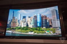 Who doesn't need a massive sized 4K res  curved TV?