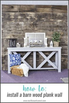 how-to-install-barn-wood-plank-wall