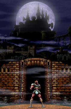 Super Castlevania IV Dracula Castle Video Game Poster