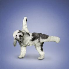Yoga Old English Sheepdog - Yoga Dogs. Funny Calendars, Animal Yoga, Funny Animals, Cute Animals, Dog Calendar, Calendar 2014, Dog Books, Old English Sheepdog, Dog Runs