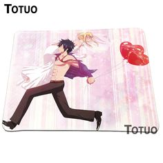 New arrival Fairy Tail Animation Printing Pattern Background Optical Anti-slip Gaming Mouse Mat Soft Silicone Lock Edge Pad #Affiliate