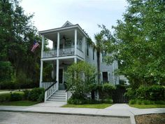 Charleston Carolina Charm with all the Custom Crafted Conveniences of today located in the upscale Beaufort waterfront community of Overlook at Battery Creek. Light and Bright open floor plan with the feel and features youll fall in love with the moment you walk through the front door. This like new home offers nearly twenty five hundred  square feet of living space with two story front porches and a large rear porch to relax and enjoy the sunshine and breezes. Gourmet kitchen with custom…