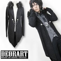 Swallow-Tailed Jacket-Like Cardigan / http://www.cdjapan.co.jp/products?term.shop=apparel&term.brand_id=100000102&opt.is_group_default=1&order=new