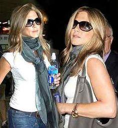 Jennifer Aniston rocking a pair of Tom Ford sunglasses