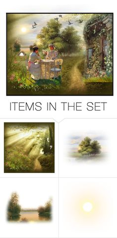 """""""Victorian Cove"""" by krystalkm-7 ❤ liked on Polyvore featuring art"""
