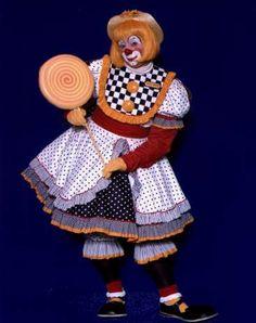 Haddie The Clown - Auguste Clown  www.holidaytheclown.com