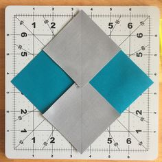 no waste flying geese method.  make  4 from each square  Bernina