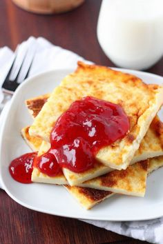Rahkapannukakku - Suklaapossu Pancakes, Food And Drink, Breakfast, Ethnic Recipes, Morning Coffee, Pancake, Crepes