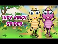 The #IncyWincySpider wants to climb the water spout! :-) #nurseryrhymes #kids