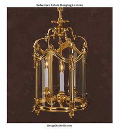Belvedere Estate Hanging Lantern