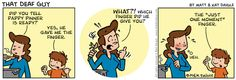 """It laughs at the day-to-day concerns of parenthood. 