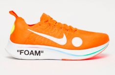 detailed look 071aa d006e Get Ready For The OFF-WHITE x Nike Zoom Fly Mercurial Flyknit Total Orange  Fussballschuhe