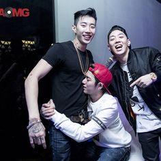 Jay Park's IG: #aomg #blockb #goodtimes