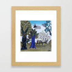 Magical Nature Framed Art Print