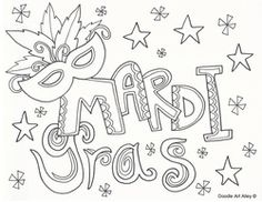 free printable coloring pages mardi gras pages - Mardi Gras Coloring Pages Free Printable