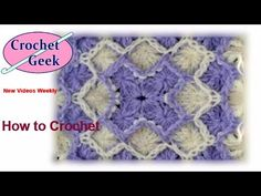 Bavarian Crochet Stitch Crochet Geek Part 1 - Knitting Story Stitch Crochet, Crochet Geek, Hand Crochet, Free Crochet, Crochet Towel, Crochet Stitches For Blankets, Crochet Stitches Patterns, Baby Blanket Crochet, Crochet Square Pattern
