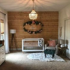 Lolly Convertible Crib with Toddler Bed Conversion Kit – Baby Room 2020 Nursery Signs, Nursery Wall Decor, Baby Room Decor, Nursery Room, Room Signs, Accent Wall Nursery, Crib Wall, Baby Room Themes, Room Baby