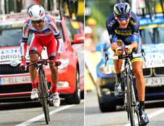 CHASING LE TOUR: THREE STAGE WINS FOR FROOME - Stage 17 - Joaquin Rodriguez (left) was impressive, finishing in third place overall while Roman Kreuzinger (right) took fourth place.