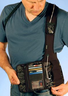 3 Reasons to Use a Travel Shoulder Wallet