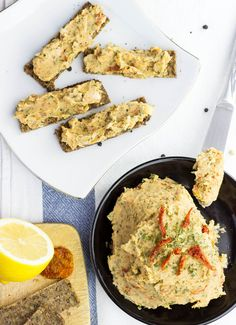 Quick White Bean Spread (vegan pâté). A super fast recipe that works ...