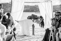 The St James Kiss! The St, Kiss, Beach, Wedding, Antigua, Valentines Day Weddings, A Kiss, Seaside, Weddings