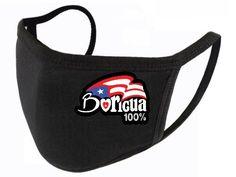 Face Mask W/ Boricua 100% Puerto Rican Culture, Soft Fabrics, Puerto Rico, Cotton Fabric, Female, Bags, Handbags, Dime Bags, Puerto Ricans