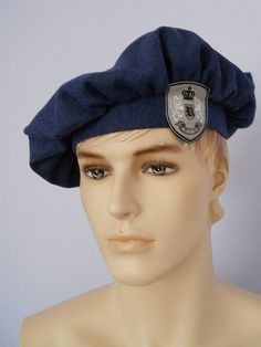 Historic Scottish Beret Tam  Highlander Hat by MyCommonThreads