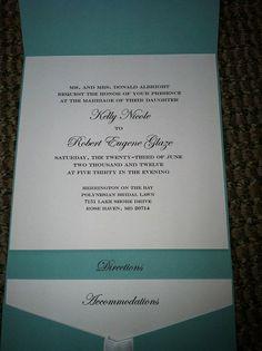 Tiffany's Themed Wedding Invitation Suite  by JessicaStrayerDesign, $225.00