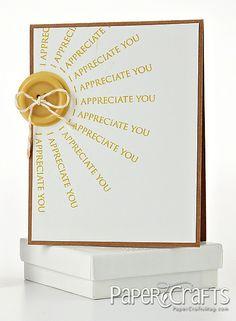 I Appreciate You Card by @Wida Yusufi-Miller