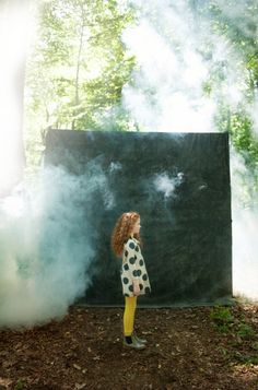 A forest always works well for a kids fashion shoot as demonstrated with this quirky shoot for Ladida new fall/winter kidswear 2015 stocked online