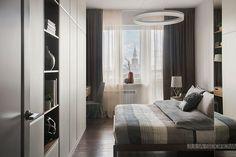 Красивая квартира в приглушенных тонах в Москве (108 кв. м) | Пуфик - блог о дизайне интерьера