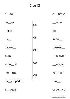 atividades de ortografia Mais