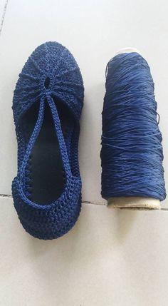 Вязане взуття