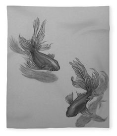 Twins Fleece Blanket x by Faye Anastasopoulou. Our luxuriously soft throw blankets are available in two different sizes and feature incredible artwork on the top surface. The bottom surface is white. Fleece Blankets, Soft Blankets, Tropical Animals, Fusion Art, Blankets For Sale, Pattern Pictures, My Themes, Bed Throws
