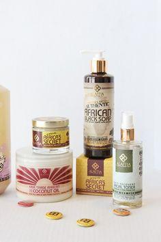 Alaffia Skincare Line. Change your skincare regime to fair trade items.