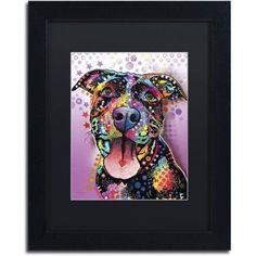 Trademark Fine Art Ms Understood Canvas Art by Dean Russo, Black Matte, Black Frame, Size: 16 x 20